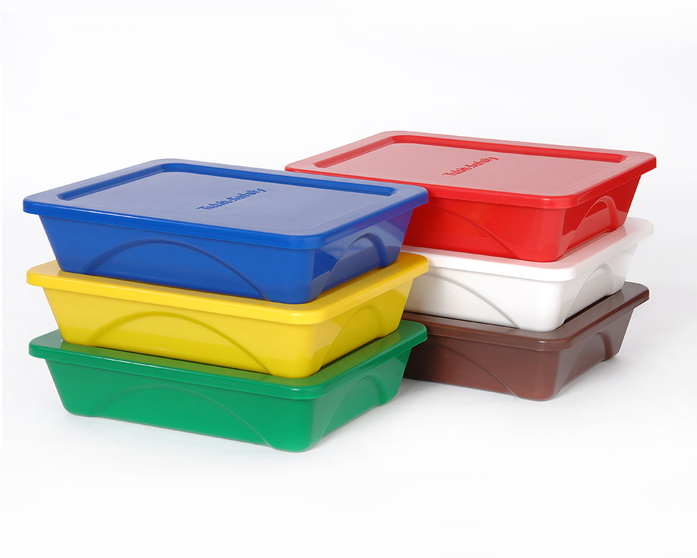 Coloured Storage Tubs Designs